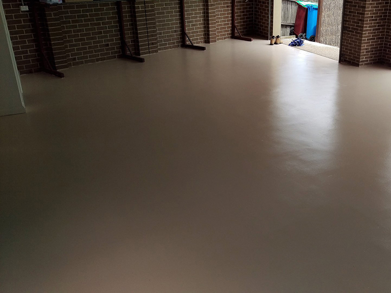 Industrial and Commercial Concrete Coatings