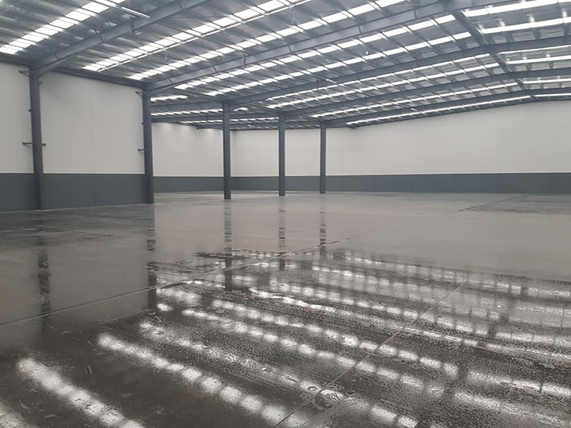 Commercial coating services